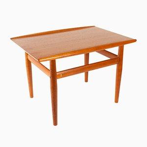Danish Modern Teak Side Table by Grete Jalk for Glostrup Furniture, 1960s