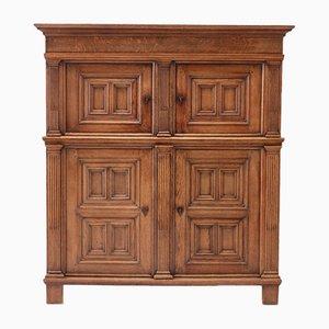 18th Century Dutch Oak Cabinet