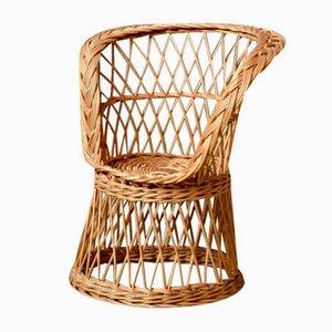 Diabolo Wicker Children's Chair
