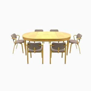 Dining Room Set by Ilmari Tapiovaara for Asko, 1977