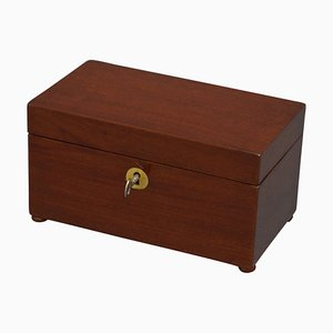 Early Victorian Mahogany Box