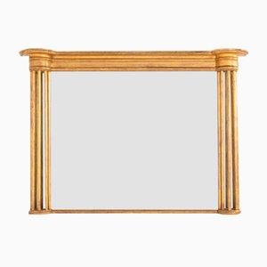 19th Century Regency Giltwood Overmantel Mirror