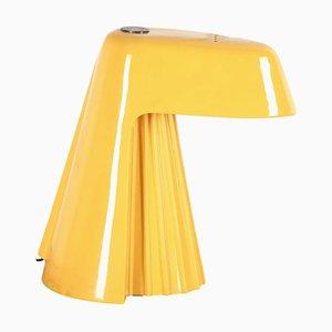 Italian Yellow Ceramic Lamp