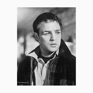 On the Waterfront Archival Pigment Print Framed in White by Bettmann