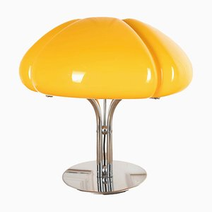 Lámpara de mesa Quadrifoglio italiana de Gae Aulenti, años 70