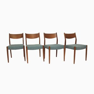 Teak Chairs by Cees Braakman for Pastoe, 1960s, Set of 4