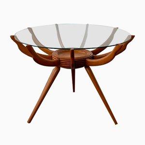 Mid-Century Coffee Table by Carlo De Carli, Italy, 1950s