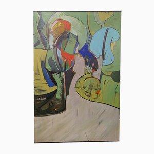 Mixed Media on Canvas by Domingo Criado