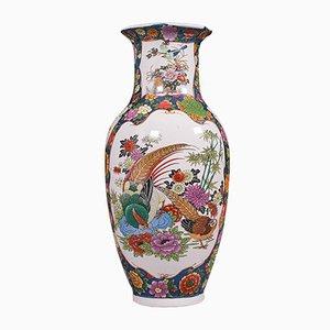 Vintage Art Deco Baluster Flower Vase or Display Urn in Ceramic, 1940s