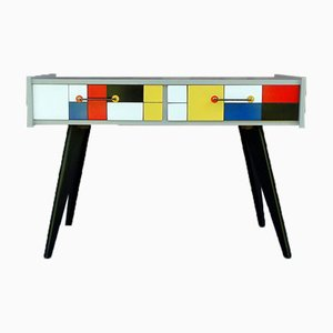 Cabinet with Mondrian Paint, 1960s