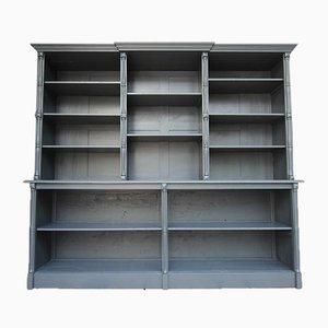 Large French Shutter Cupboard in Anthracite