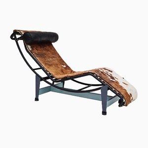Chaise longue LC4 di Le Corbusier per Cassina, anni '80