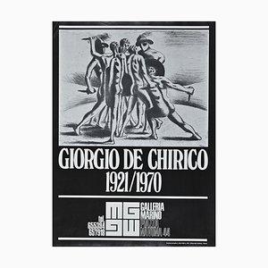 Posters Giorgio De Chirico Exhibition, Offset Poster, 1973