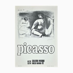 Picasso Exhibition Poster, Offset, 1974