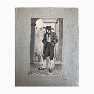 William Hogarth, Character, Drawing, 19th Century