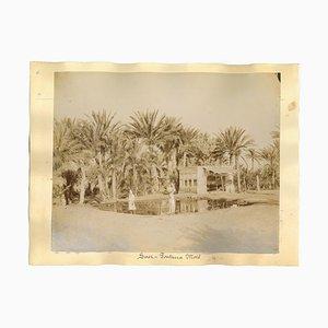 Unbekannt, Antike Ansichten von Suez, Albumen Druck, 1880er / 90er, 2er Set