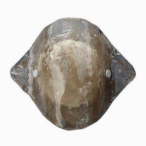 Murano Smoked Glass Wall Lamp from Kalmar