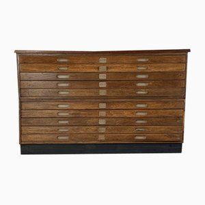 Mid-Century Chest with Inset Handles from Staverton