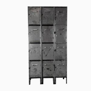 Vintage 12 Compartment Steel Locker