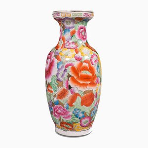 Small Vintage Chinese Posy Vase or Baluster Urn, 1950s