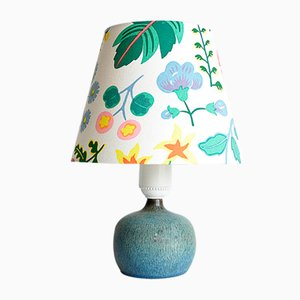 Mid-Century Swedish Stoneware Table Lamp by Gunnar Nylund for Rörstrand