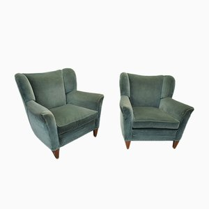 Armchairs by Guglielmo Ulrich, Italy, 1940s, Set of 2