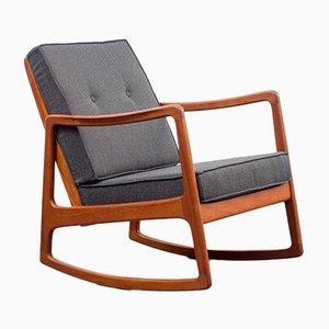 Restored Rocking Chair by Ole Wanscher for France & Søn / France & Daverkosen, 1960s