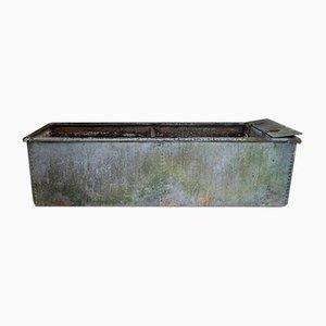 Vintage Galvanised Water Trough Planter