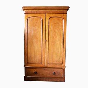 Large Victorian Mahogany Hallway Cupboard or Gentleman's Wardrobe