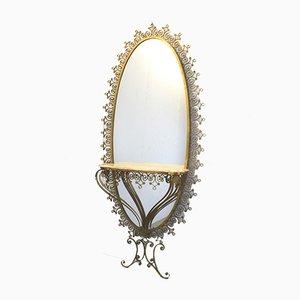 Konsole mit Spiegel von Pierluigi Colli, Italien, 1960er