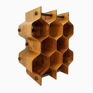 Sculptural Wine Rack by Torsten Johansson for AB Formtra, Sweden