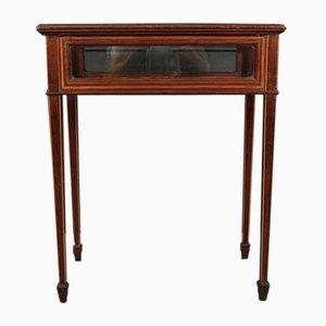 Edwardian Inlaid Mahogany Bijouterie Table