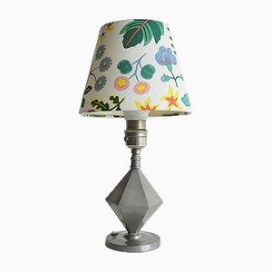 Pewter Table Lamp from Guldsmedsaktiebolaget GAB, 1931