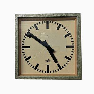 East German Industrial Factory Clock from Elfema, 1950s
