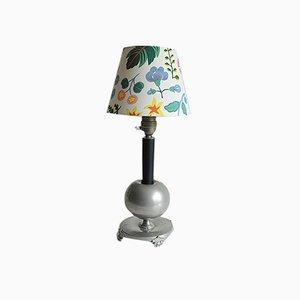 Pewter Table Lamp from Nordiska Juvelaktiebolaget, 1935