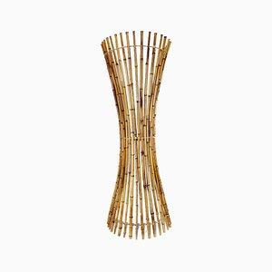Mid-Century Modern Bamboo Lamp, Italy, 1960s