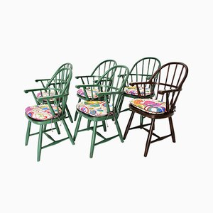 Art Deco Windsor Chairs by Josef Frank for Thonet, Austria, 1920s, Set of 6
