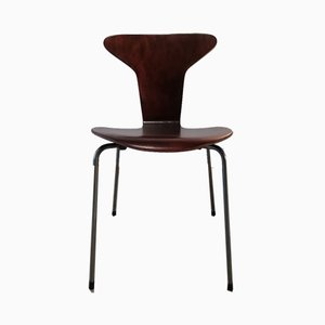 Mid-Century 3105 Myggen or Mosquito Chairs by Arne Jacobsen for Fritz Hansen, Set of 4