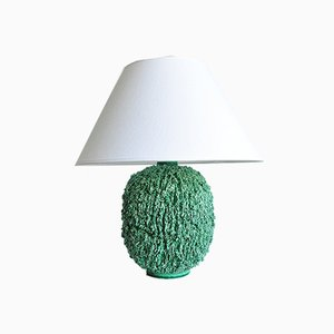 Chamotte Table Lamp by Gunnar Nylund for Rörstrand, 1940s