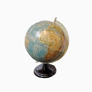 Vintage East German Physical Earth Globe by Raths Leipzig, 1960s