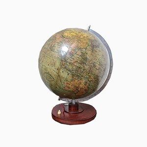 Vintage Columbus Glass Globe Lamp, 1920s
