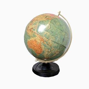 Vintage East German Physical Earth Globe Lamp by Raths Leipzig, 1960s