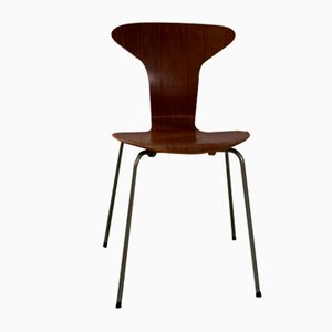 Mid-Century 3105 Side Chair by Arne Jacobsen for Fritz Hansen