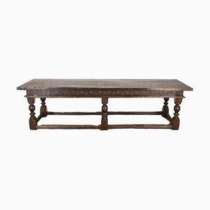 17th Century Charles II Oak Refectory Table