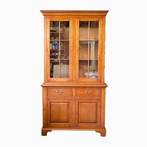 Bradley Classic Furniture Style Solid Cherry Wood Display Dresser