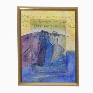 Kristin Dorfhuber, Composition, 1980s, Color Lithograph