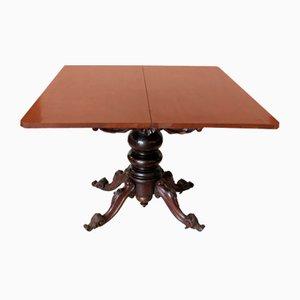 Victorian Mahogany Folding Table