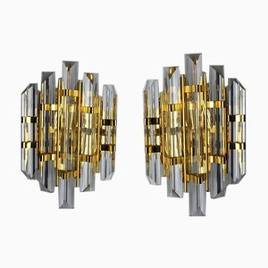 Sconces from Venini, Italy, 1970s, Set of 2