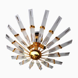 Soleil Ceiling Lamp from Venini, Italy, 1970