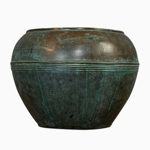 Antique English Copper Planter or Pot from Henry Loveridge, 1900s